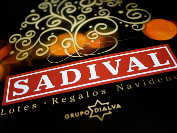 Sadival. Photo direction, design and print management